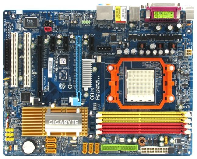 Gigabyte m57sli-s4 системная плата на базе чипсета nvidia